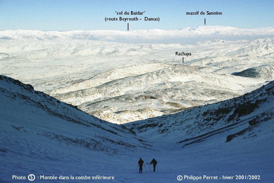 Photo 5, topo Jebel ech Cheikh