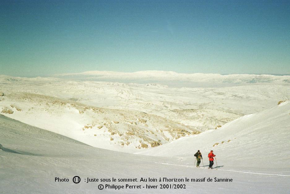 Photo 11, topo Jebel ech Cheikh