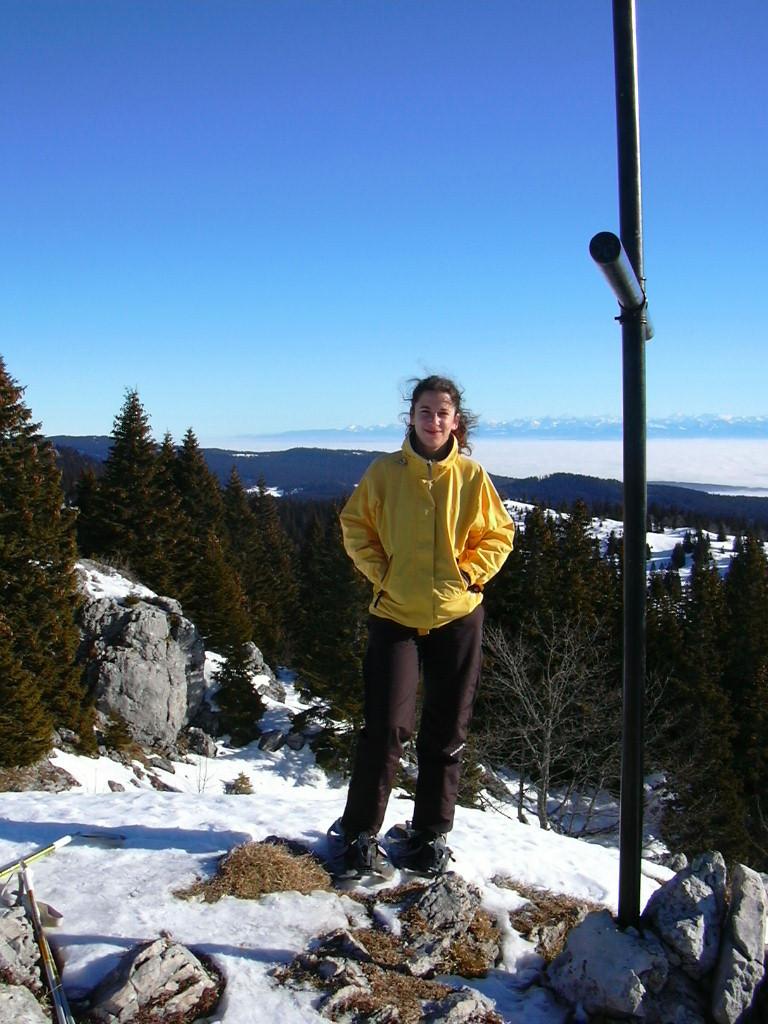 Au sommet du Noirmont