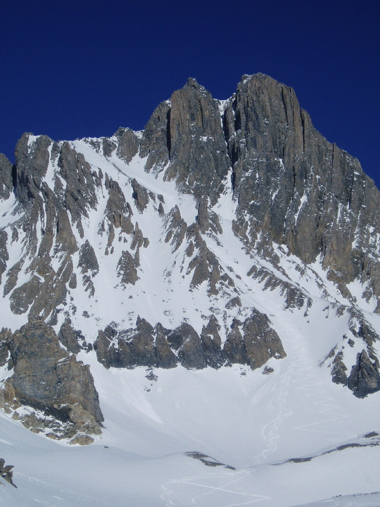 pointe de la fournache couloir SW