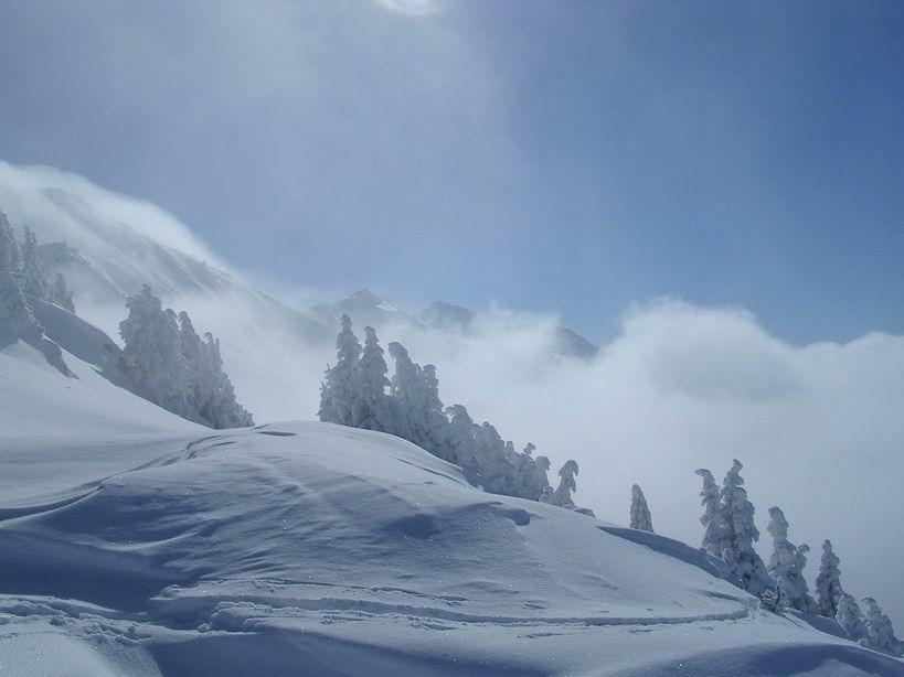 Altitude 2000 , arête nord-ouest Grande Lanche