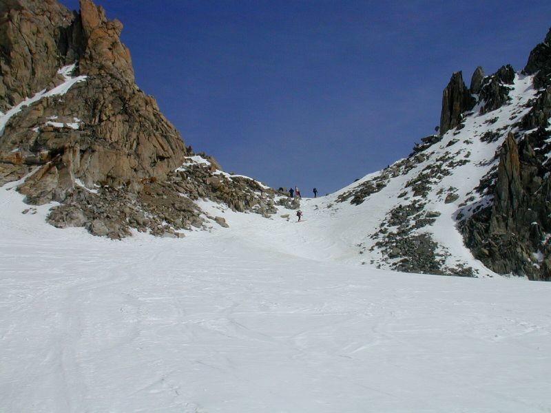 Montée au Col du Chardonnet