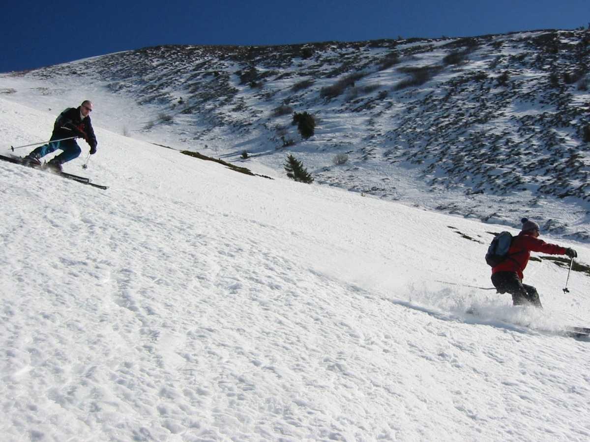 Ski au piquet