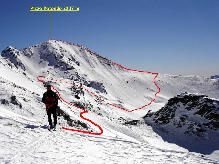 Pizzo Rotondo 2237 m