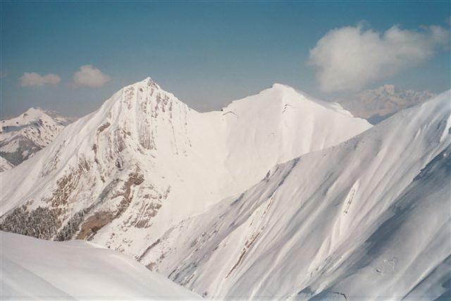 Pecloz, Mont d'Armène, et versant ouest de Pointe des Arces