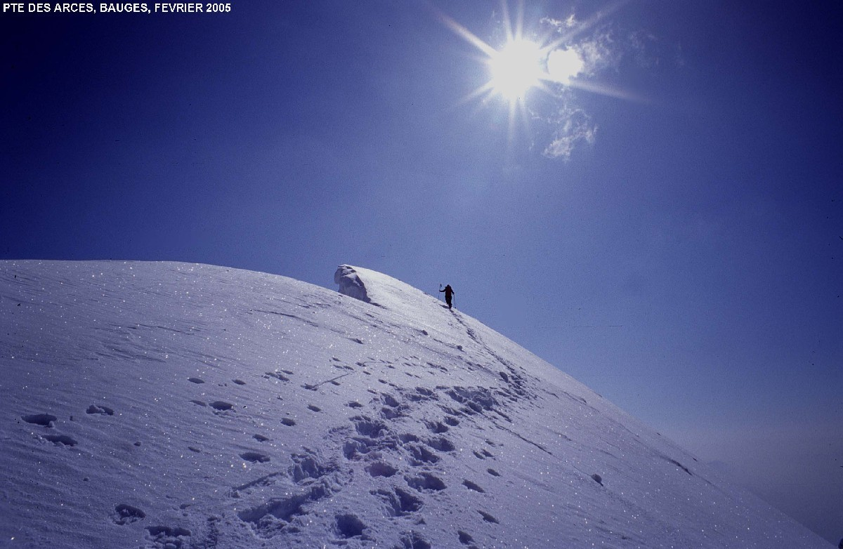 Pointe des Arces