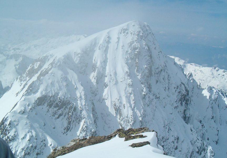 Rocher d'Arguille Face Nord (vue de la Gde Valloire)