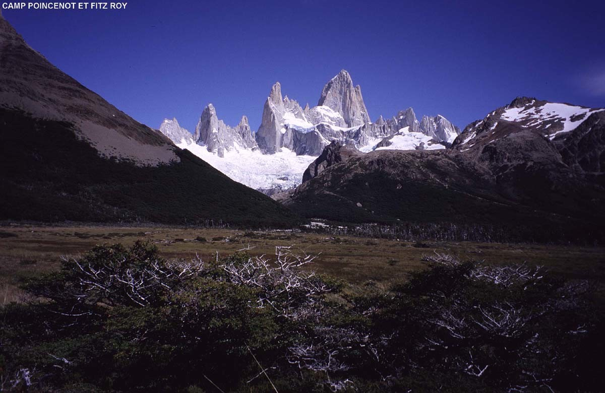 Fitz Roy, depuis le Camp Poincenot