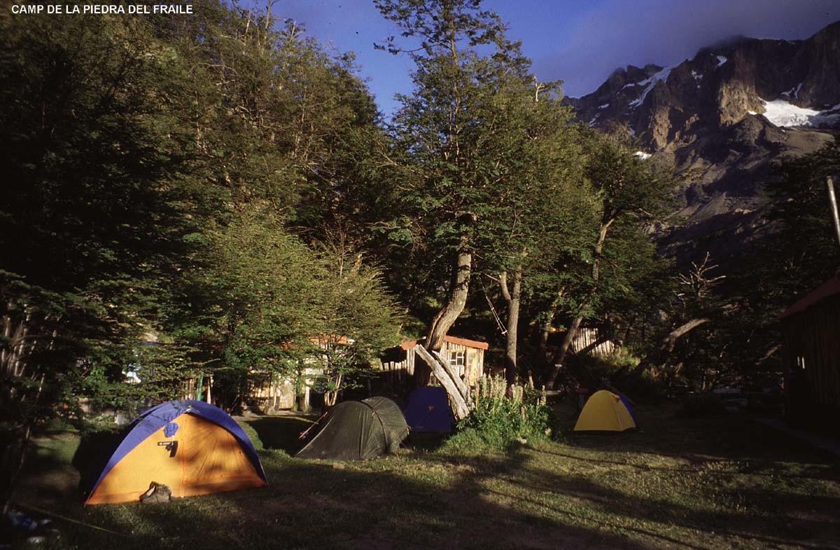 Camp de la Valle del Fraile, massif du Fitz Roy