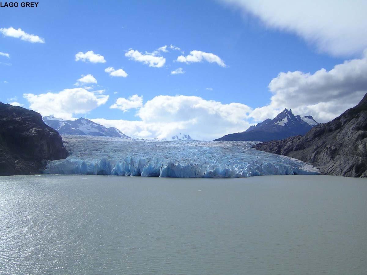 Glacier Grey, massif du Paine