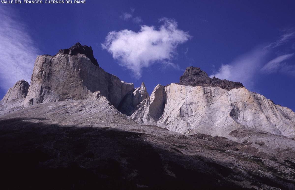 Cuernos del Paine vus du Campo Italiano