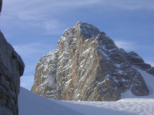 Upper part of Dachstein - South Face