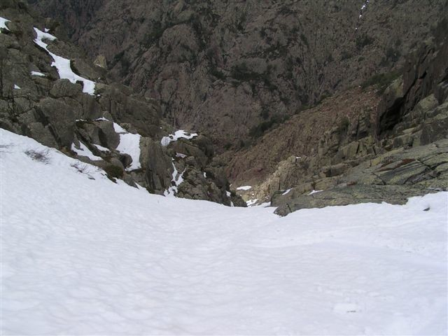 couloir de maghine, asco