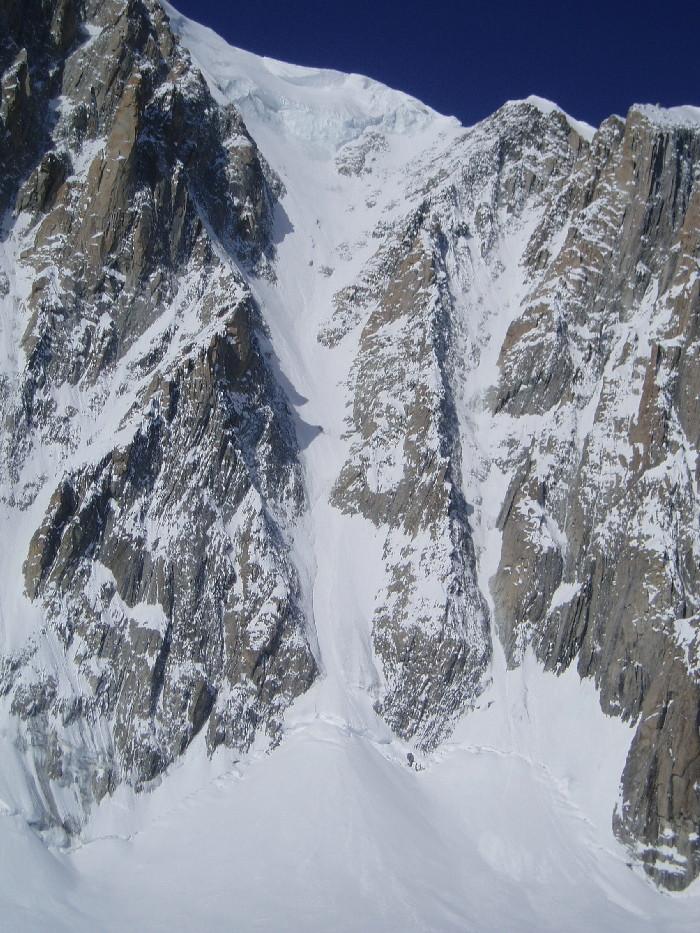 Couloirs Est du Mt Blanc du Tacul