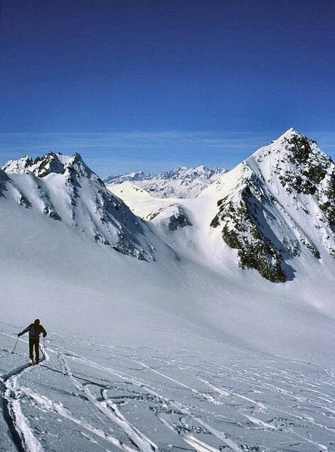 Muttengletscher: Ch.li Muttenhorn e Oberland