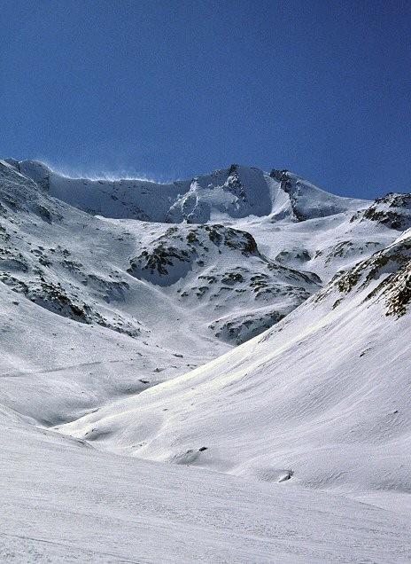 Piz Piot dal vallone di Jufer Alpa
