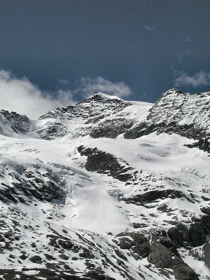 Piz Cambrena dal Berninapass