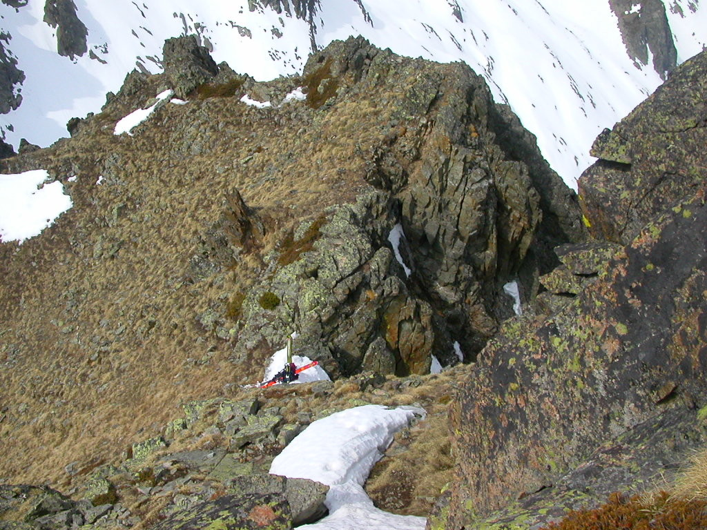 Pointe de l'Ifala , couloir NW