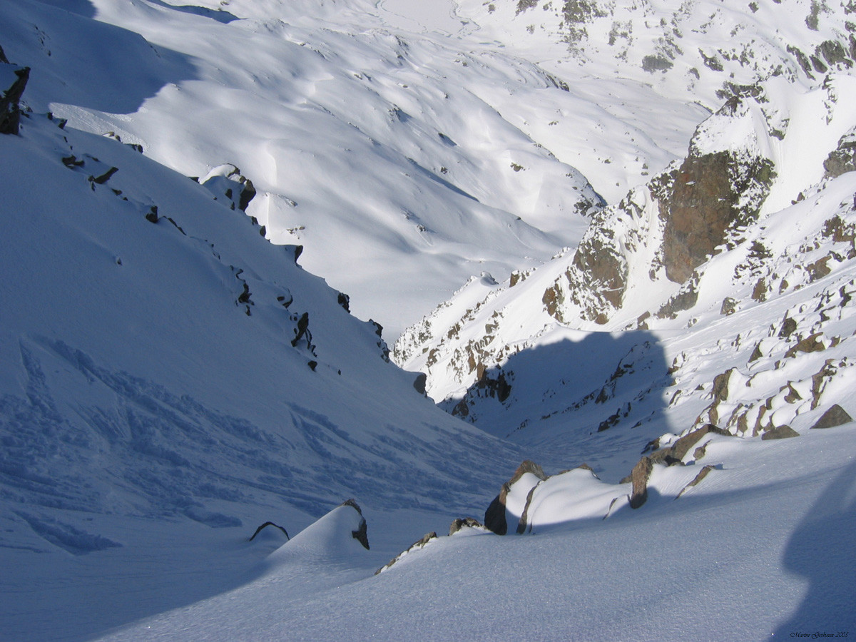 couloir SW du rocher Blanc