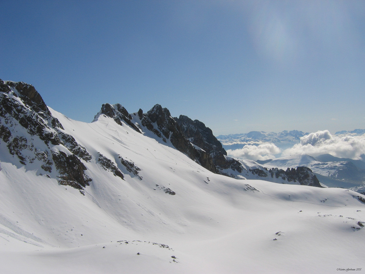 Col de Bruyant versant Eau d'Olle