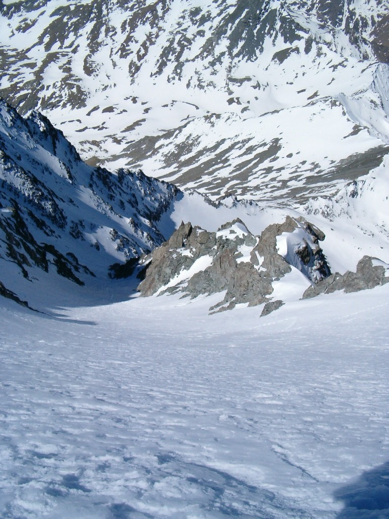 Couloir d'Annibal - vista dall'Alto