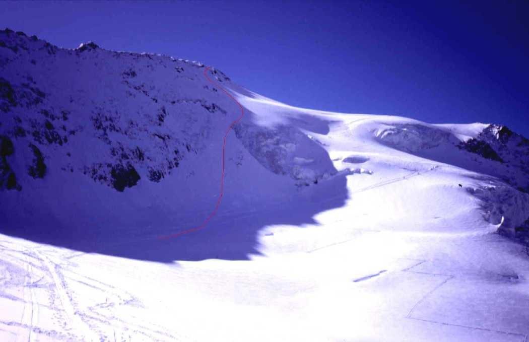Mt. Pourri - face NW