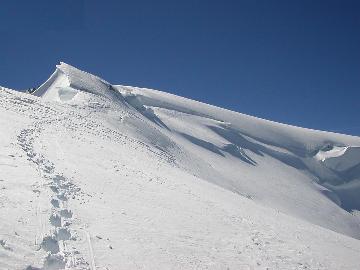 Mont Blanc du Tacul, voie contamine Grisolle