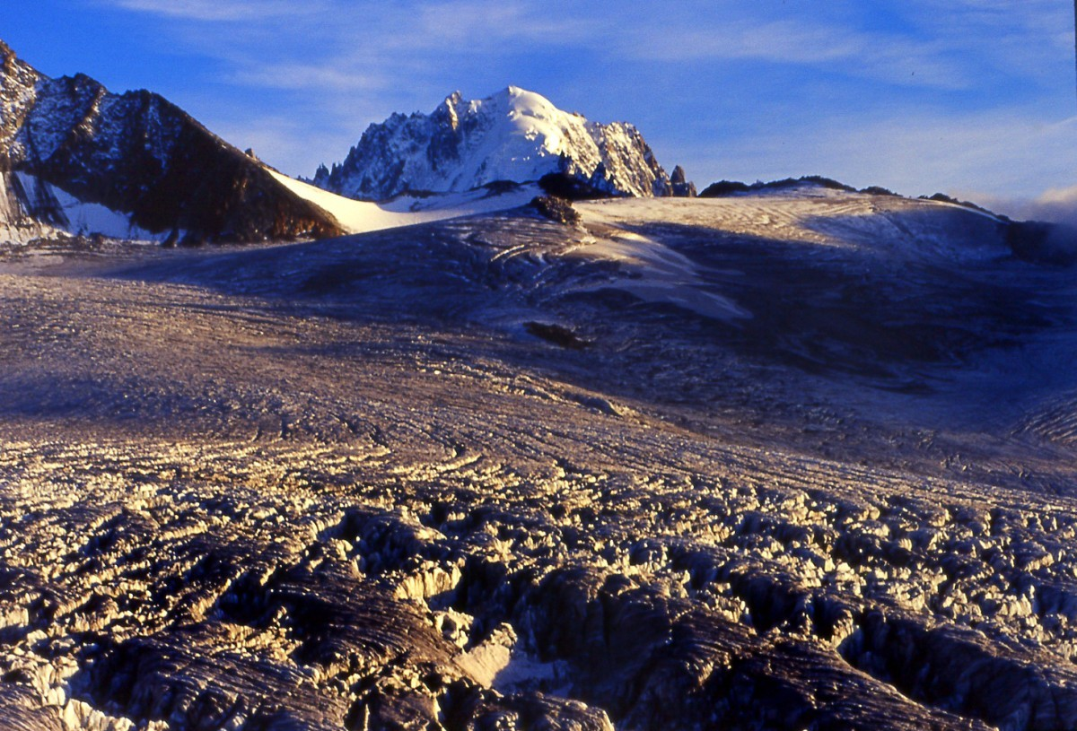 L'aiguille Verte, reine du Mont Blanc