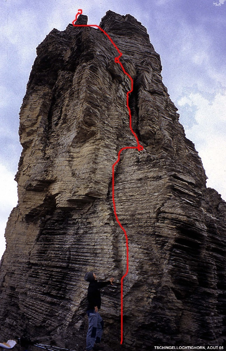 Tour sommitale du Tschingellochtighorn (Oberland Bernois)