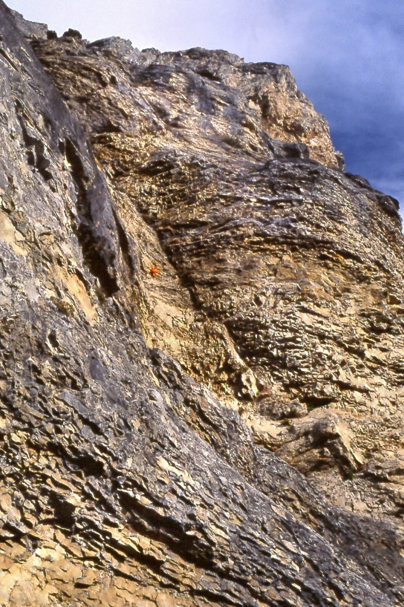 Dent de Crolles-départ du pilier sud