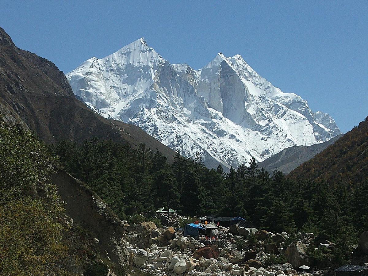 Chirbasa (3500m), tout près de la mythique Source du Gange