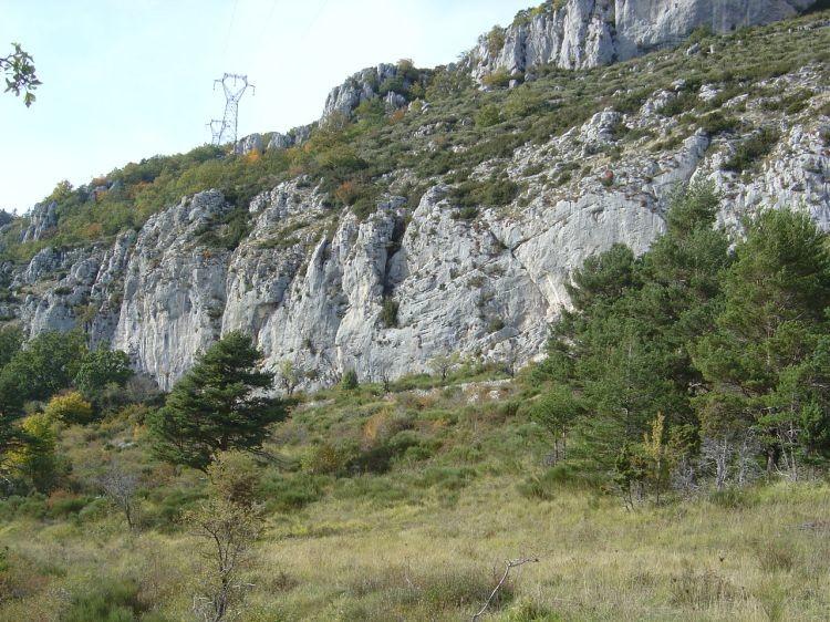 Castellaras - Secteur Sud