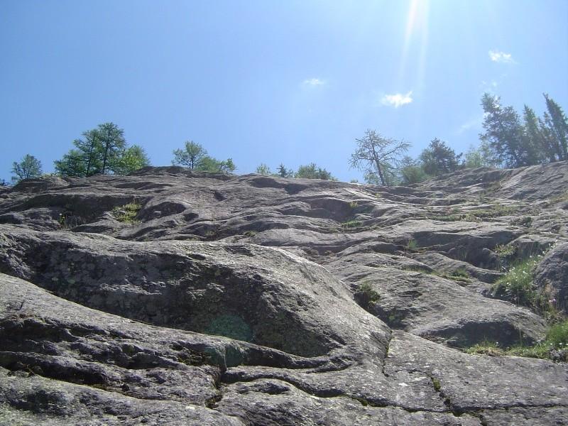 le mur des vétérans dans la via corda alpina