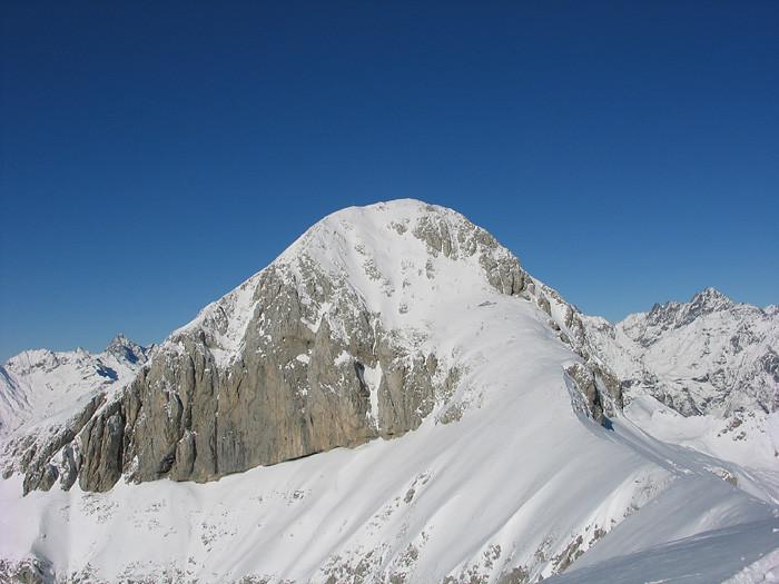 Monte Ferrante: la pala finale