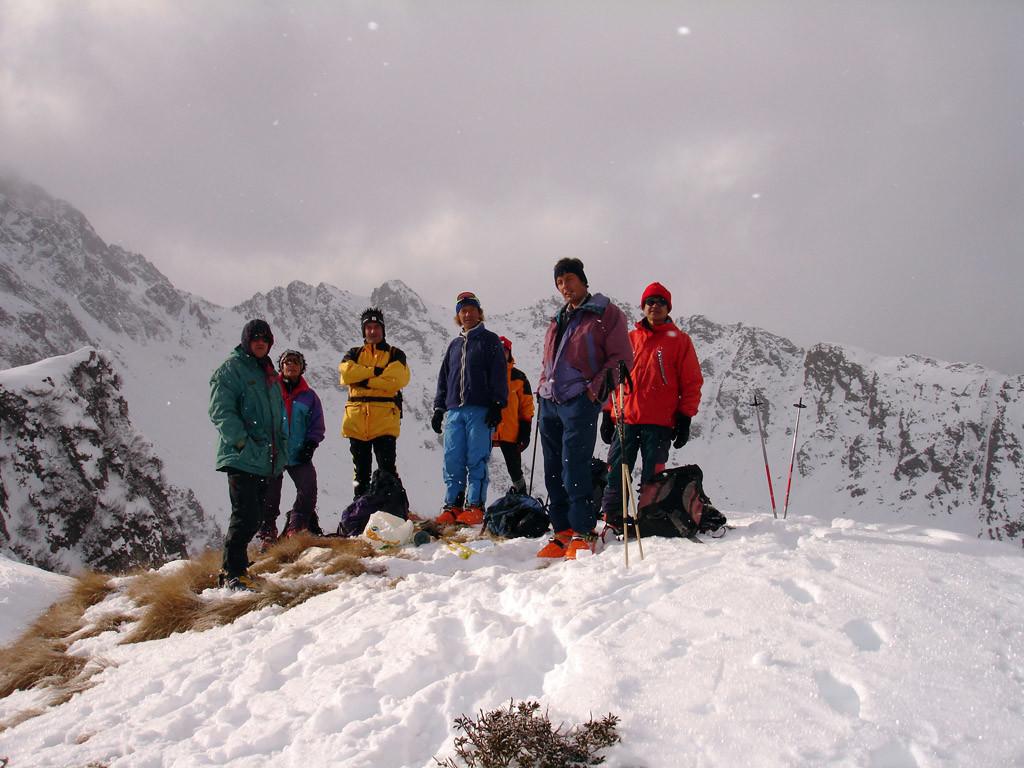 In cima al Pizzo Culdera 2176 m Val d'Arigna.