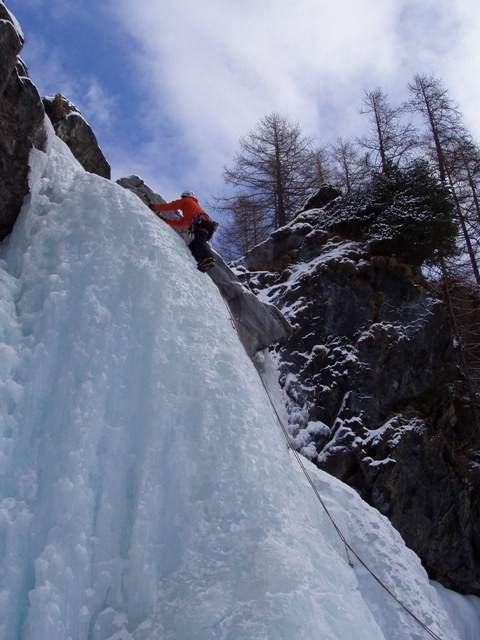 Cascade Lillaz 3eme longueur