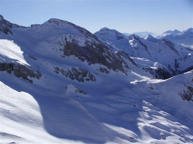 La Combe de Foiroux prise du sommet du Chauchefoin