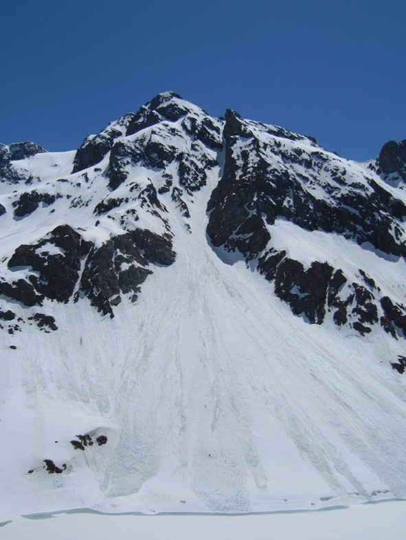 Pic Couttet, couloir nord