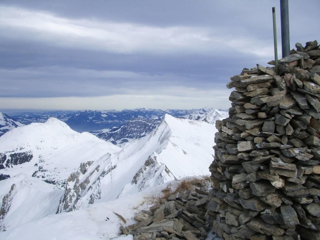 Vue depuis le sommet du Bunderspitz