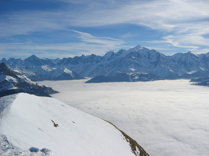 Chaine du Mont-Blanc, des 4 têtes