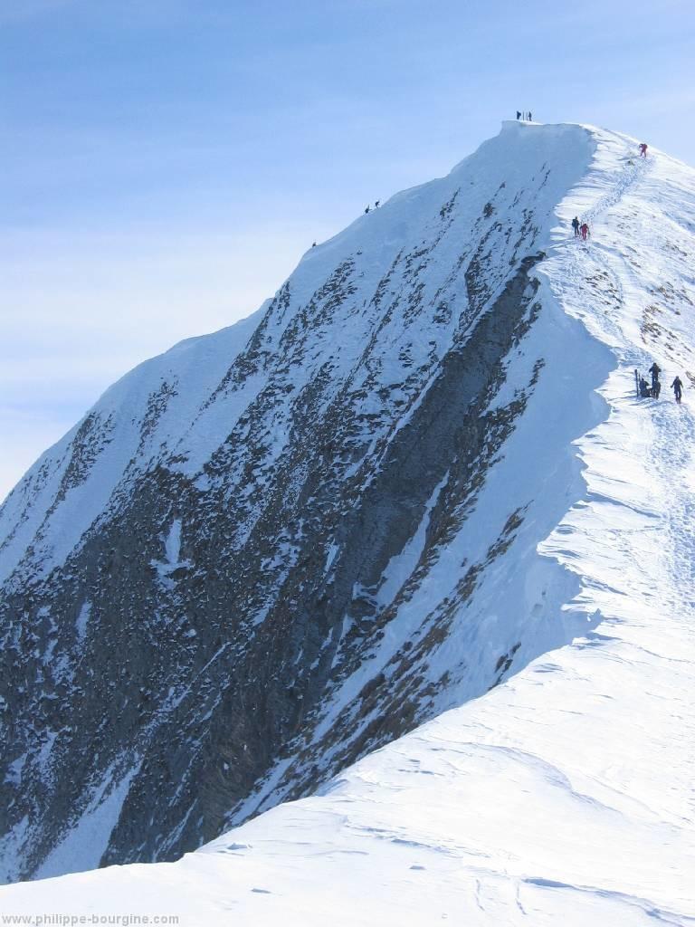 arête et face nord du Mont Charvin