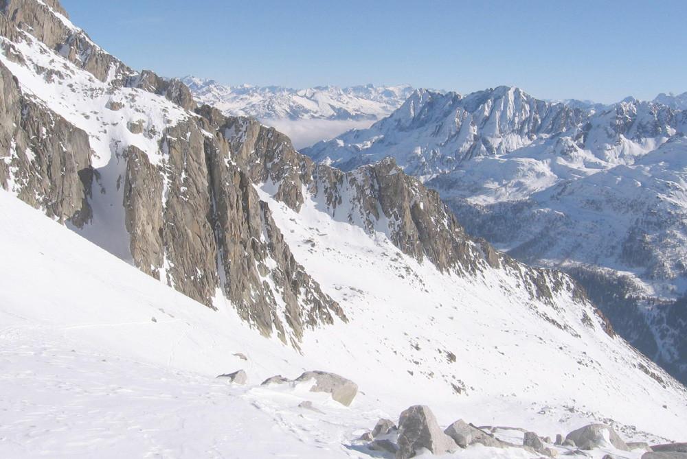 Panorama dai pressi del Gerenpass