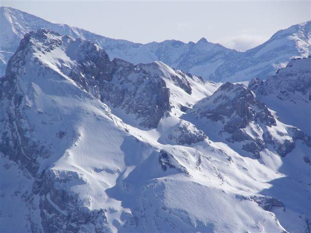 Le Mont Charvet et  la petite Miaz