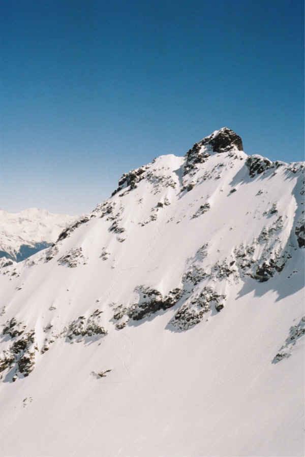 Pic du Frêne - Face Nord