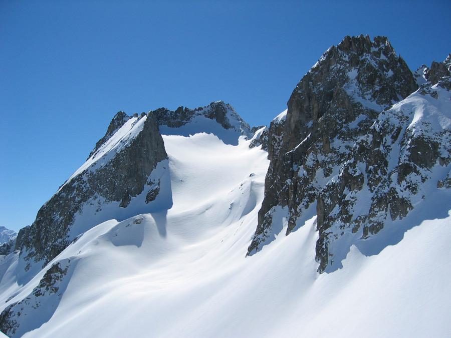 Grand Pic de la Lauzière, vu du Col des Aiguillons