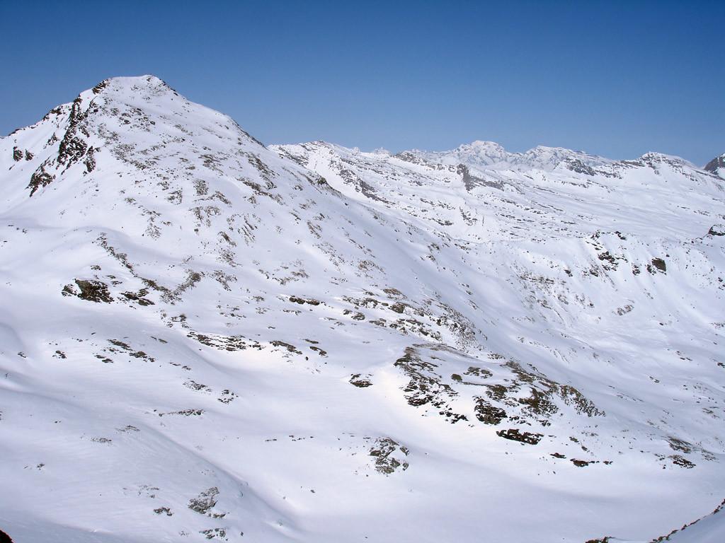 Il Fanellhorn 3123 m.