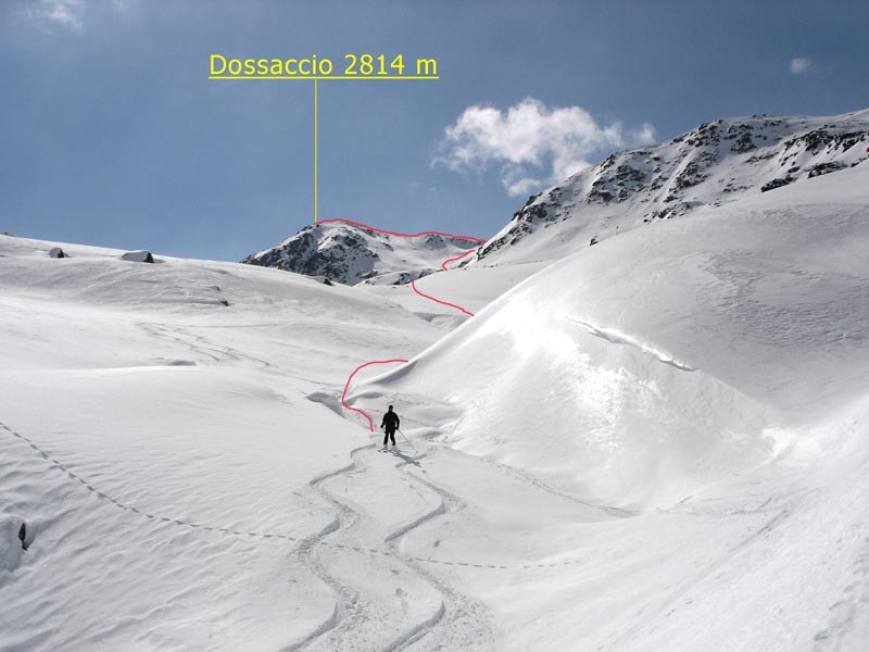Dossaccio 2814 m