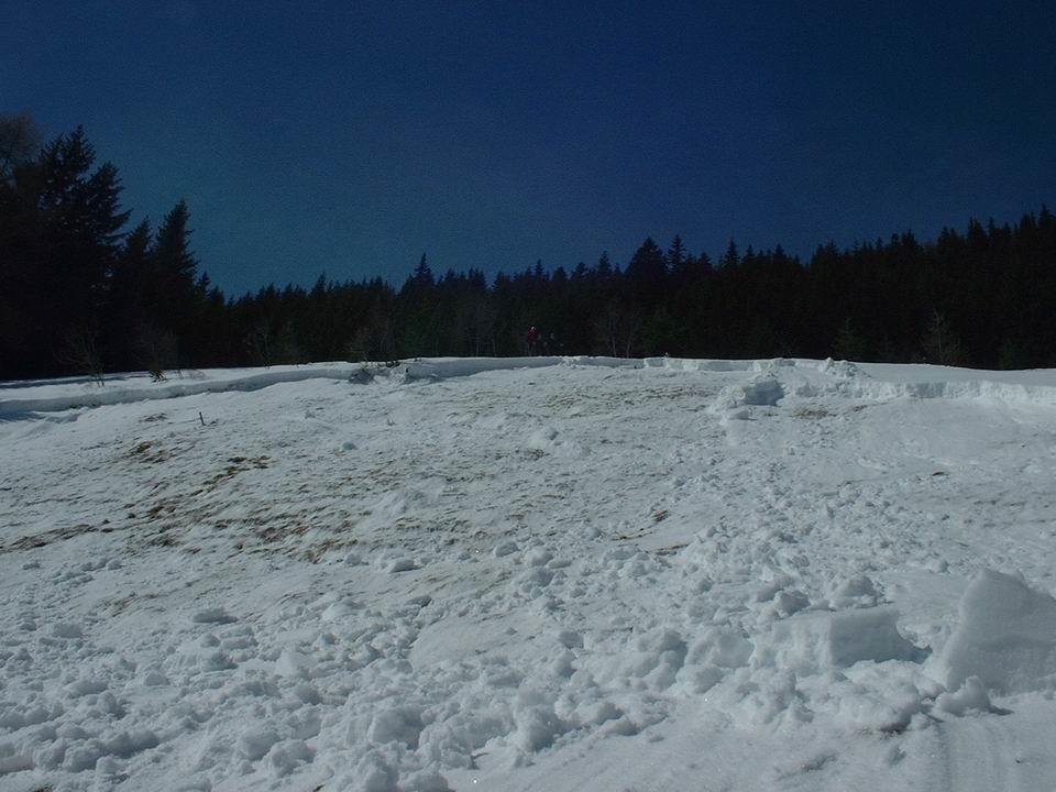 il distacco al monte Alpisella