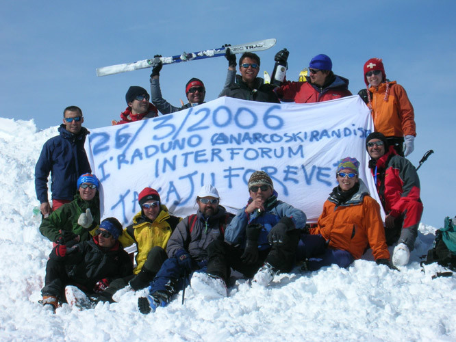 I° Raduno Anarcoskirandista  - val di Rhemes  26/03/2006 -