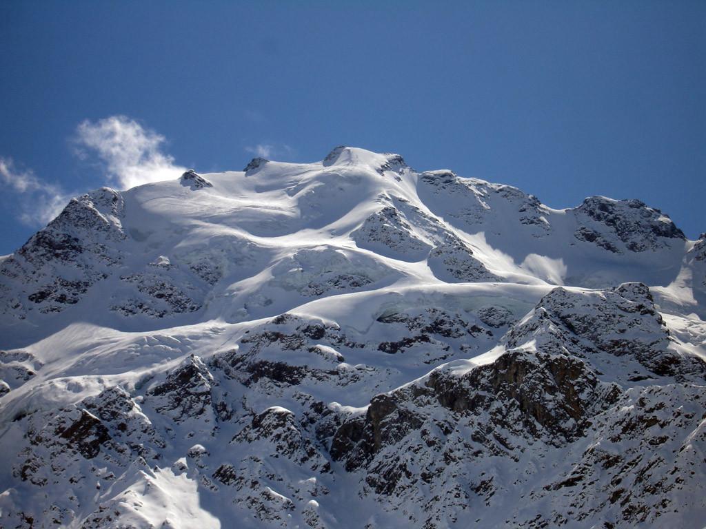 Cima Piazzi  3439 m versante Nord.